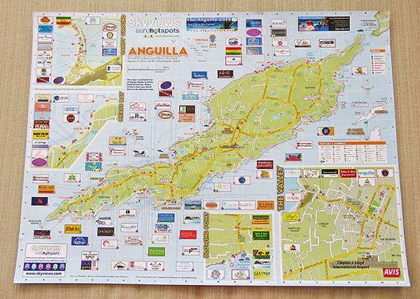 Dad's Top Tip    The Best Anguilla Maps