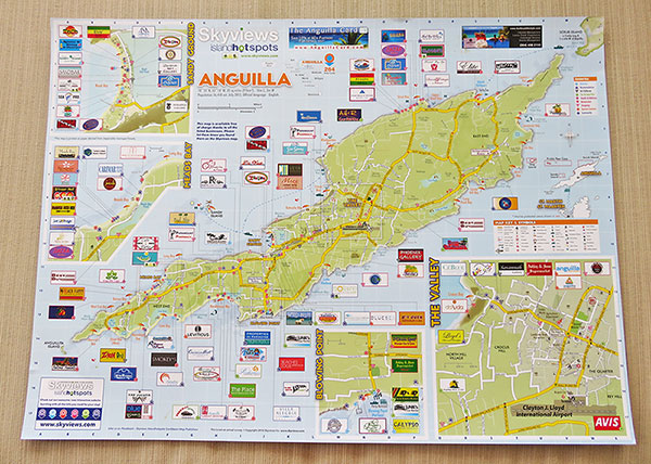 map view of skyviews anguilla map