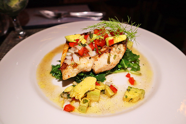Grilled Snapper Fillet