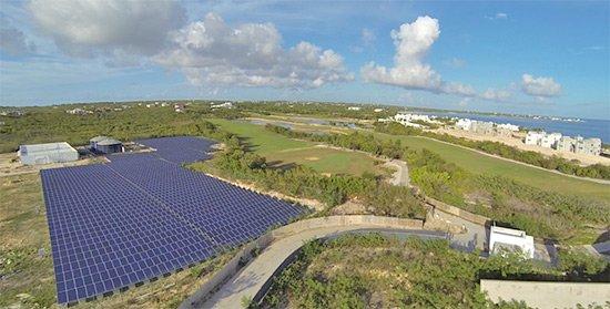 entire solar energy plant at cuisinart