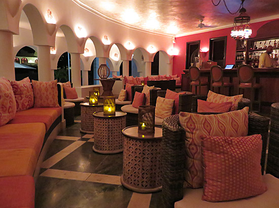 inside the lounge at cap juluca spice