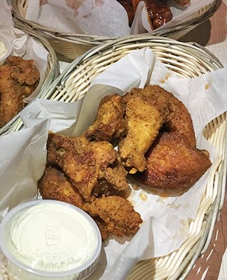 Spicy Wings at Ferry Boat Inn