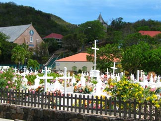 St. Barts cemetery