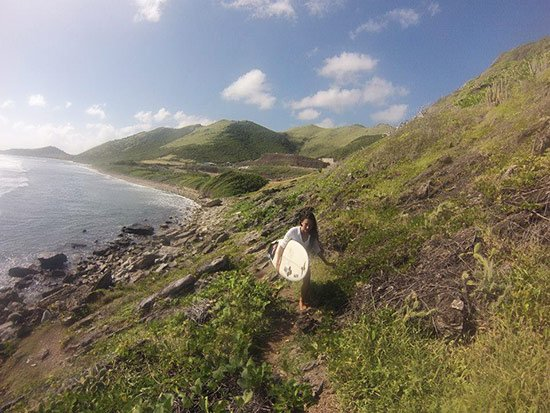 more hiking for st. martin surf spots
