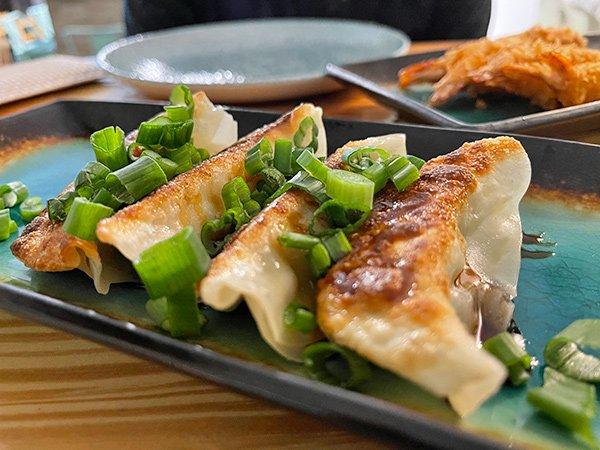 Chicken Gyoza at Tao Garden
