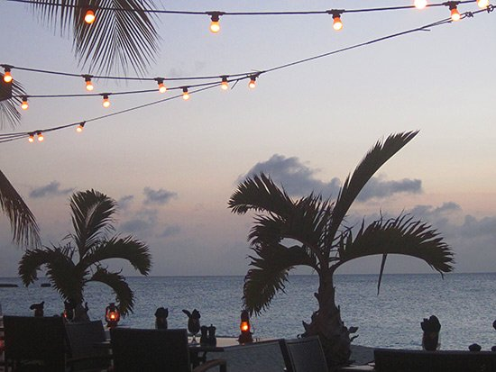straw hat offers one of the best blends of casual-yet-refined seaside dining in anguilla