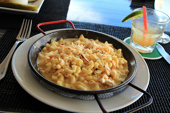 lobster mac and cheese from straw hat by ziggy