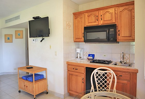 Studio Suite Kitchenette Paradise cove resort