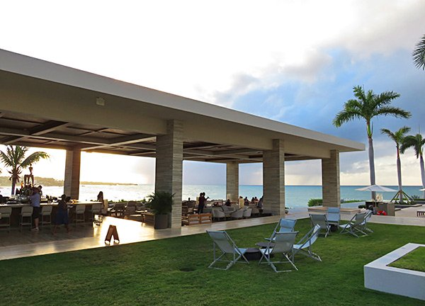 the sunset lounge at four seasons anguilla