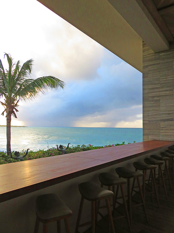 ocean view bar at sunset lounge anguilla