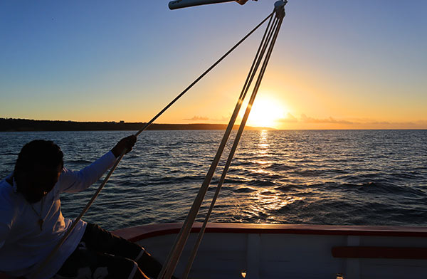 sunsets at sea in anguilla