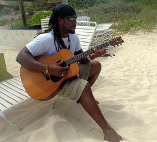 Sunshine Shack, Anguilla beach bar, Rendezvous Bay, Anguilla, Garvey Lake