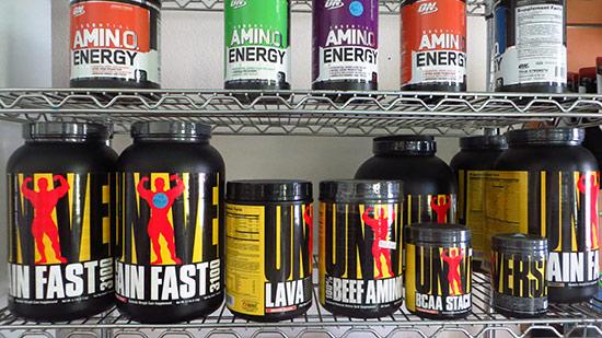 supplements at dungeon gym