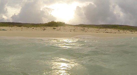 surfing sunset anguilla