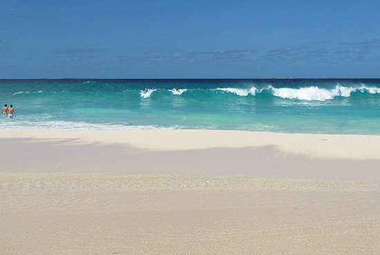 meads bay anguilla waves