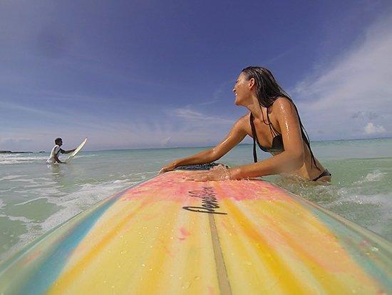 hurricane gonzalo surfing in anguilla