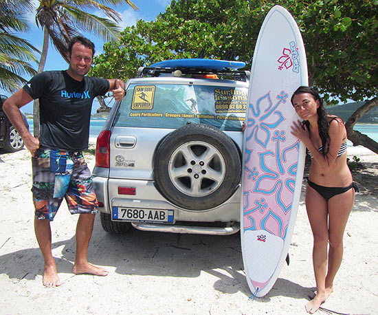 franck rigal st. martin surf
