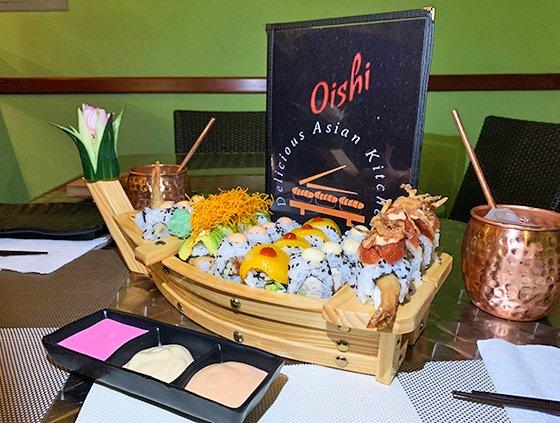 Oishi Kitchen Sushi Boat