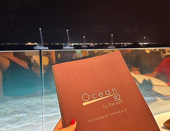Table at Ocean 82