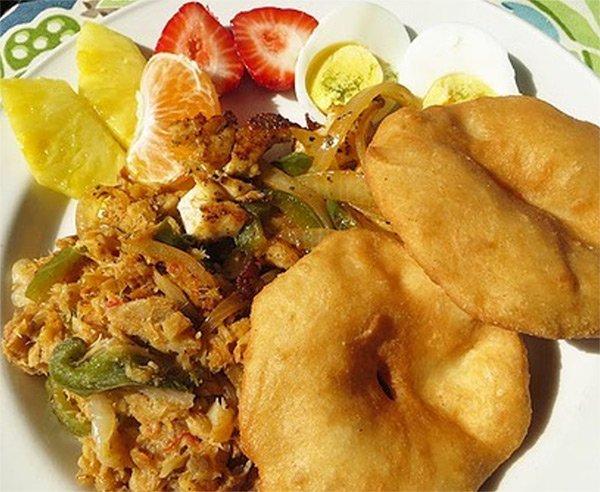 tastys caribbean sampler breakfast