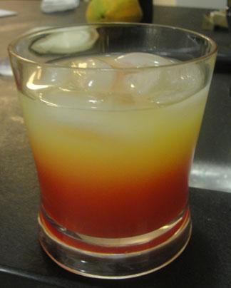 Anguilla villa, Tequila Sunrise, Dropsey Bay, Tequila Sunrise drink