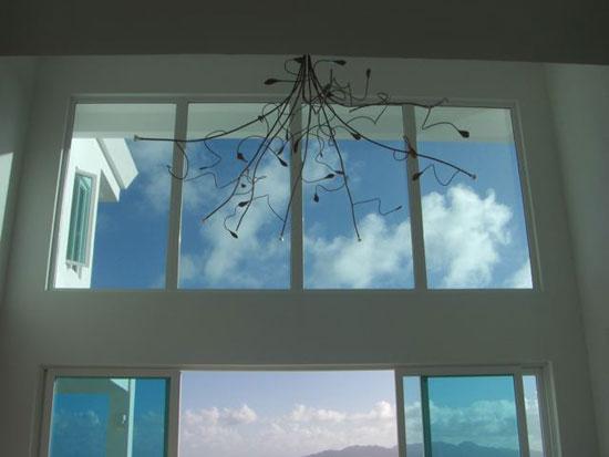 chandelier tequila sunrise villa anguilla