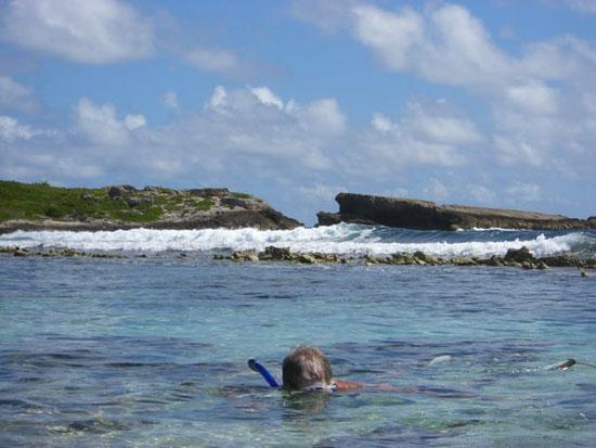 Anguilla villa, Tequila Sunrise, Dropsey Bay, snorkeling in Anguilla