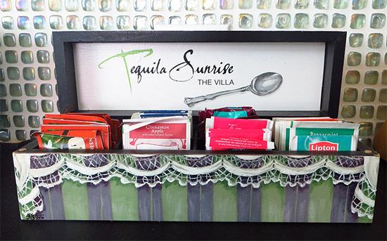 tequila sunrise anguilla  tea