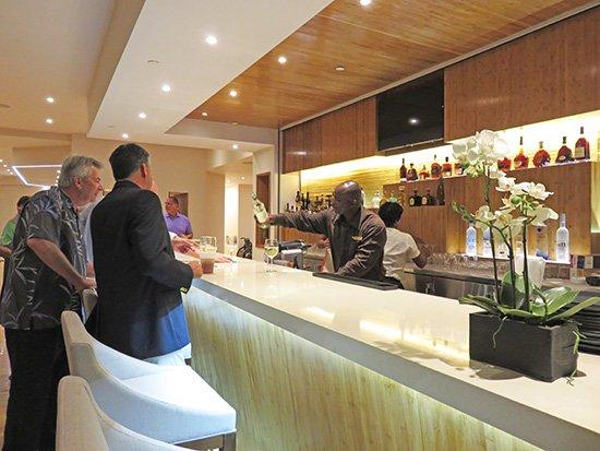 the lobby bar at anguilla reef