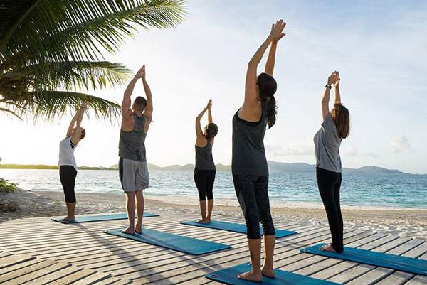 the reef yoga classes