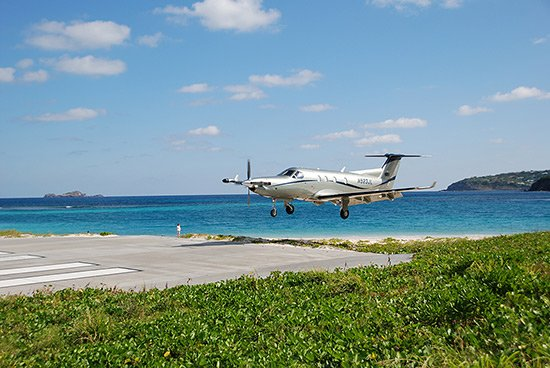 tradewind landing in caribbean