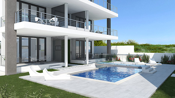 villa c with pool at tranquility beach anguilla