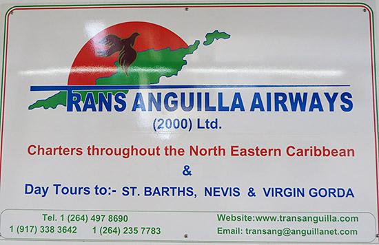 trans anguilla sign