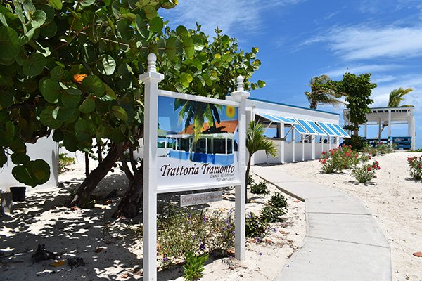 Trattoria Tramonto at shoal bay west end anguilla