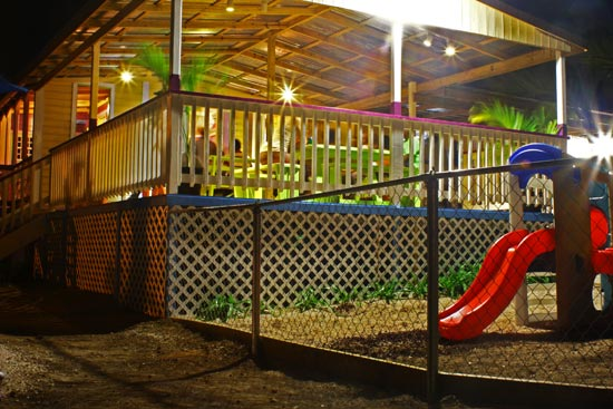 Tropical Treats Fun House