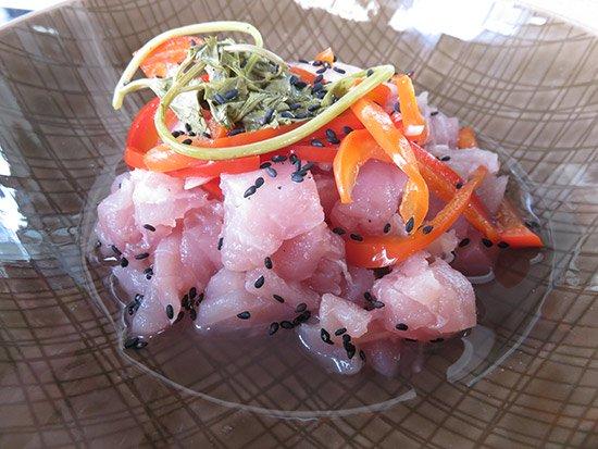 yellowfin tuna ceviche