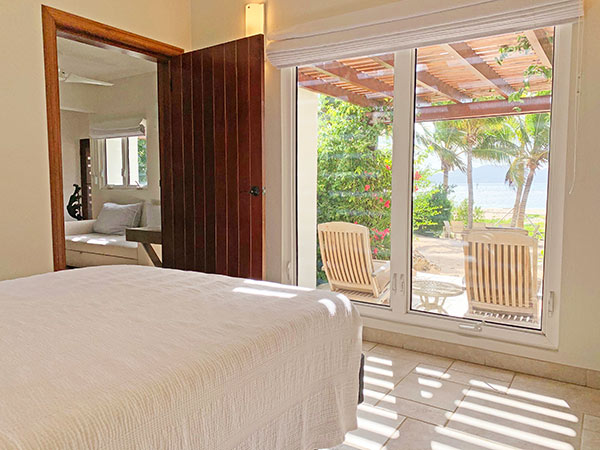 Beach Escape Villa Bedroom view