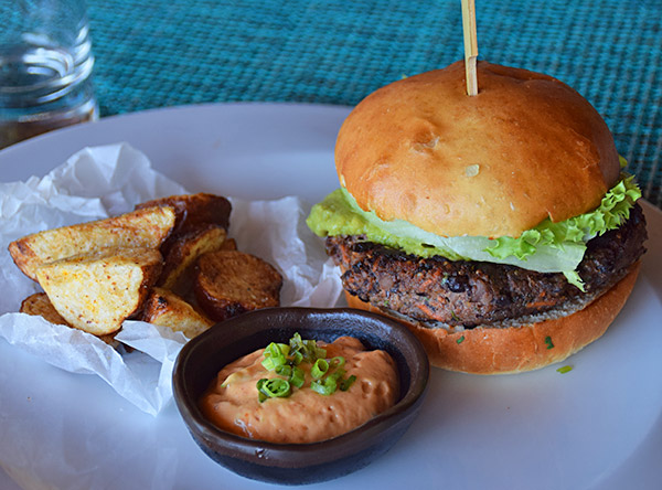 veya vegetarian burger
