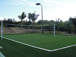 Viceroy Anguilla, sports complex, volleyball, badminton