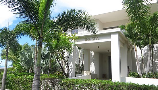 exterior of viceroy's spa