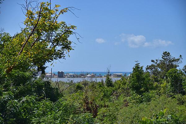 View of Sandy Ground Anguilla