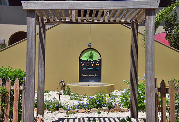 veya entrance during the day