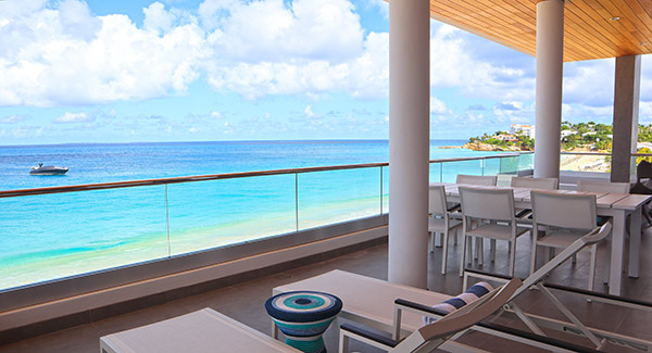 penthouse terrace tranquility beach