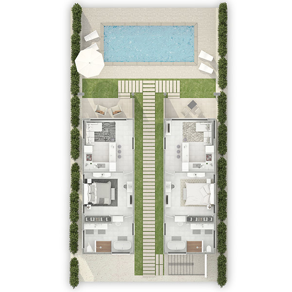 1 bedroom residences at tranquility beach anguilla