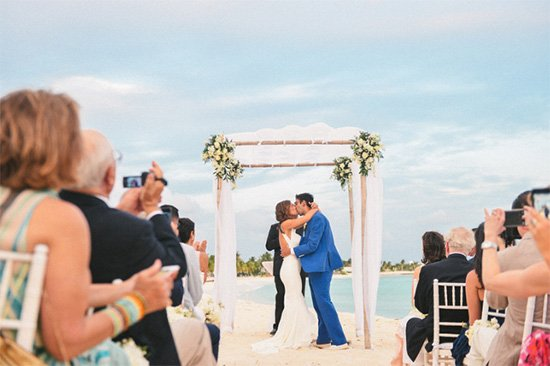 anguilla wedding on the beach photo by derrys richardson
