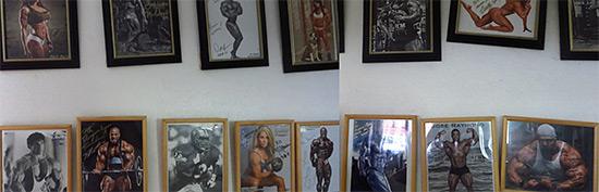 photos at dungeon gym