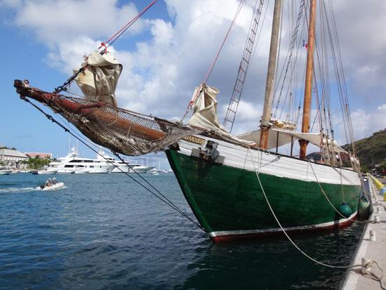scaramouche at west indies regatta in st. barths