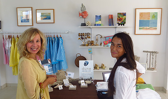 looking around limin' boutique with renee