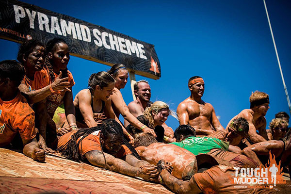 putting the tough in tough mudder