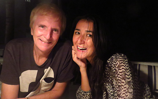 yuki and dad at malliouhana